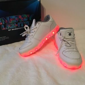 Skechers Energy Light Up Sneakers Shoes - 2.5